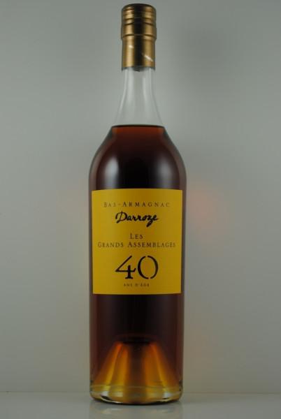 Armagnac 40 Jahre Les Grands Assemblages